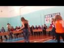 Новогодняя ёлка в техникуме. Танец Насти Кольги, Леры Емельяновой, Саши и Полины Милют