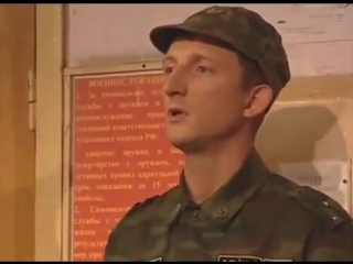 Неудачные дубли со съемок сериала Солдаты