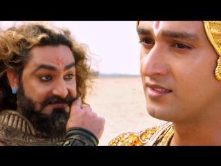 Махабхарата - Диалог Кришны и Шакуни на Курукшетре перед битвой