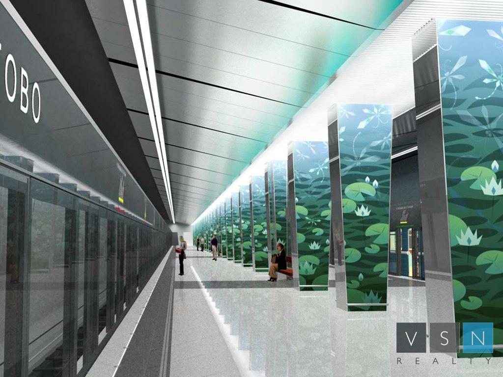 Многофункциональный комплекс построят в составе ТПУ у метро «Очаково»