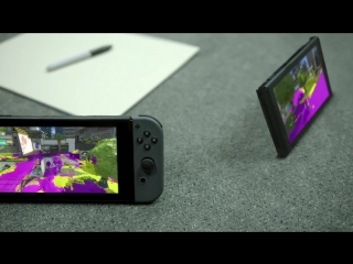 Новая игровая приставка Nintendo Switch