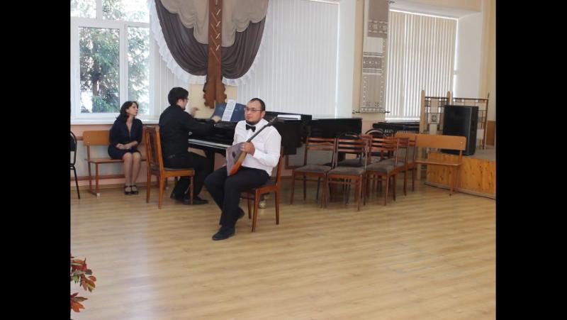 А. Марчаковский - Концерт для балалайки с оркестром №1 исп. А. Низамов - балалайка, А. Кошкин - ф-но