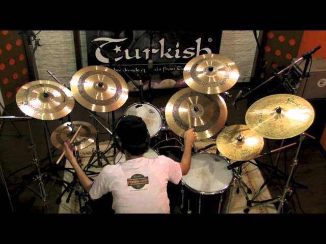 Turkish Cymbals Brasil - Linha Sehzade e Rythm Soul - Demetrius Locks