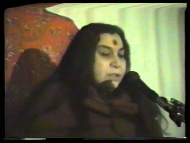 Лекция Шри Матаджи, Индия, 1983 (Вишуддхи Шри Кришна)