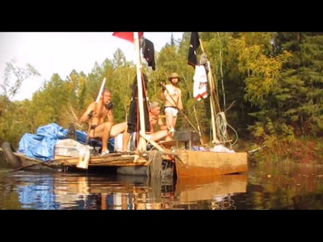 Плот Преодоление. 100 вёрст по Шишу. The raft Overcoming. 100 miles on the Shish-river