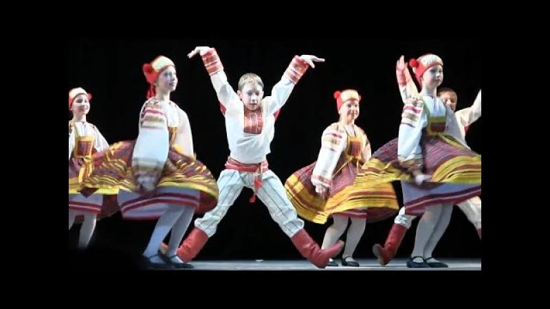 00069 Russian Dance Small Gander in Smolensk Смоленский гусачок Танец Дети Роза Ветров