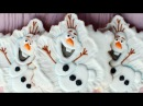 How to make an Olaf Cookie - Frozen Cookie - Snowflake cookie decorating
