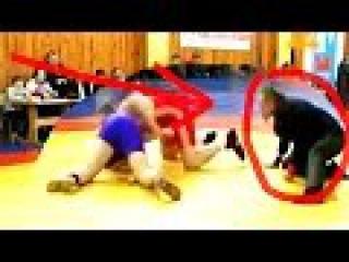 WOW The Judge Showed Aerobatics to Wrestling | УХ ТЫ Судья Показал Высший Пилотаж в борьбе
