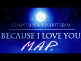 SilverXGray --Because I love you-- Complete MAP