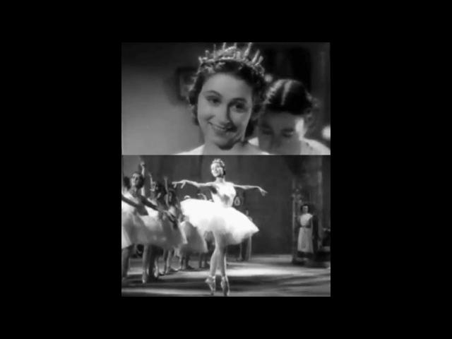 Yvette Chauviré 1917 2016 Dance Sequences from 'La mort du cygne' 1937