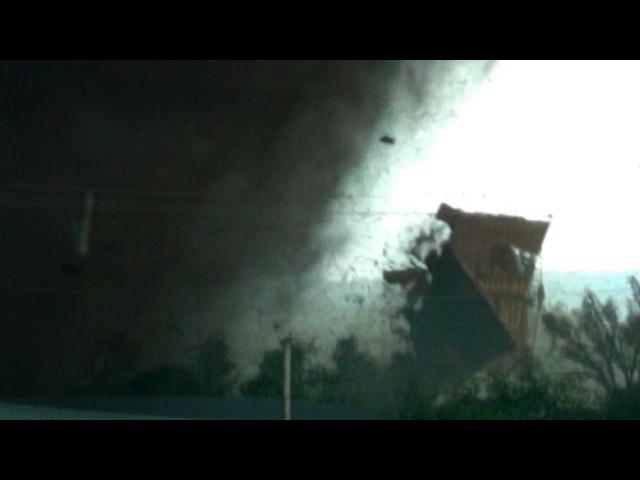 VIOLENT TORNADO WARNING - Flying Roof, House Destruction, Victims Survivors