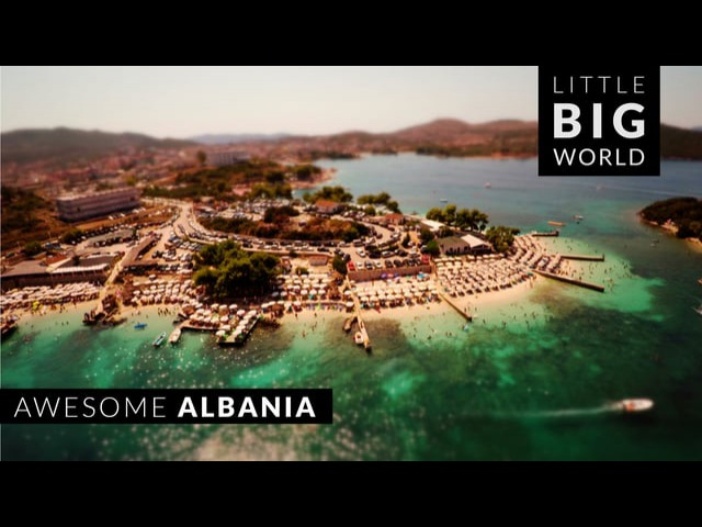 Awesome Albania (Time Lapse - Aerial - Tilt Shift)