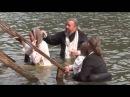 Крещение в Монастырском озере 28 июль 2016 сняты все крещеные. Тайга, Лесосибирск