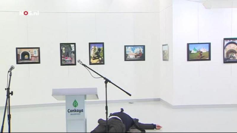 İşte Rus Büyükelçisi Karlovun Suikast Anı