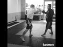 Тренировка бойца М 1 Джоша Реттингхауса