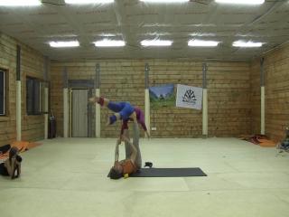 II Фестиваль Акро-йоги на Алтае. Lottery Flow. Lena Shturman (Нью-Йорк) и Сергей Розсол (Омск).