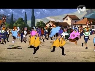 Тинтин: Храм Солнца / Tintin et le temple du soleil. 1969, мультфильм, детектив, приключения, семейный,HD-720