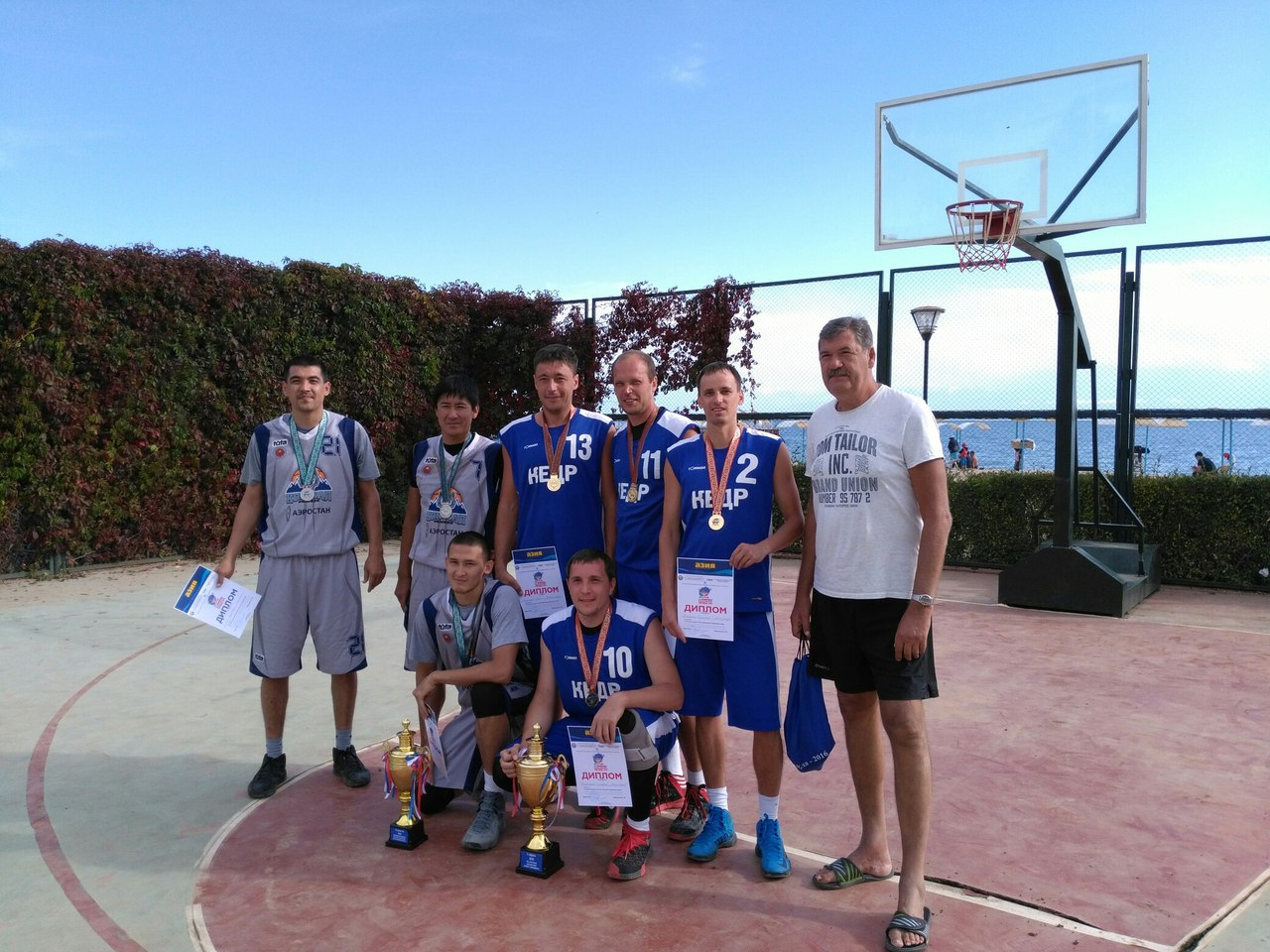 Наши баскетболисты - чемпионы!