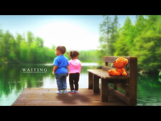 Waiting Photoshop Photo Manipulation Tutorial