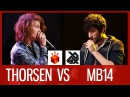 THORSEN vs MB14 Grand Beatbox LOOPSTATION Battle 2016 SEMI FINAL