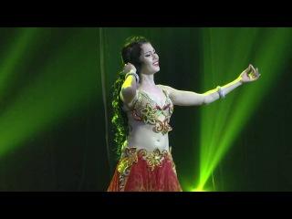 Yulianna Voronina - sensational black magic belly dance Mejanse (رقص شرقي مصري) Belly dancing