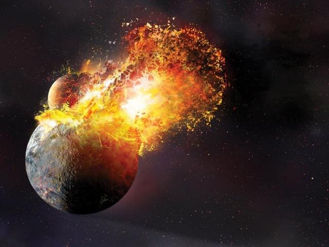 Катастрофы, изменившие планеты