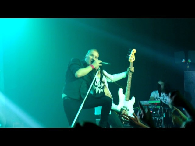 Poets of the Fall Krasnodar 08.11.2016 Running out of time