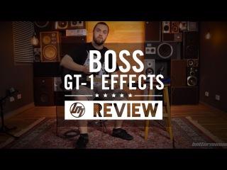 Boss GT-1 Guitar Effects Processor Review | Better Music