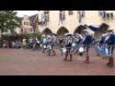 Fanfaren Marsch zum Marktplatz