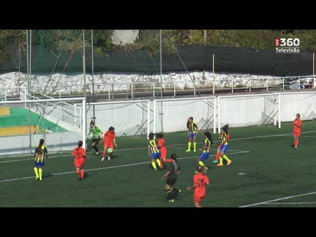 CN Promoção Feminino: Valadares 7 - 0 Pedroso