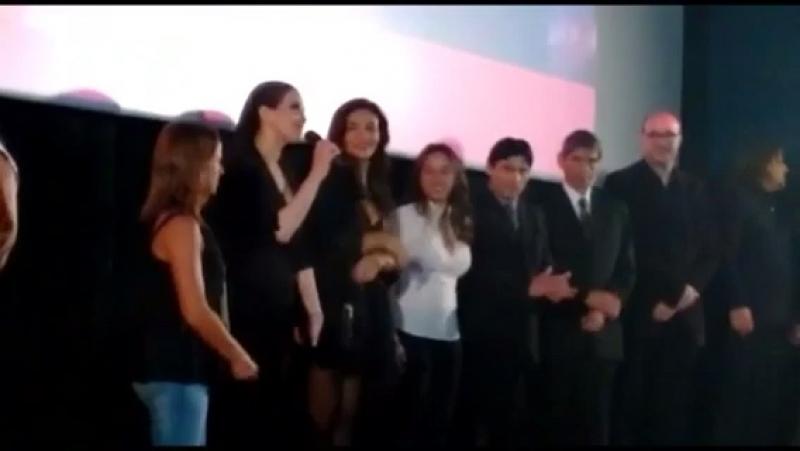 Наталия на авант-премьере фильма Джильда: Я не жалею об этой любви в Уругвае