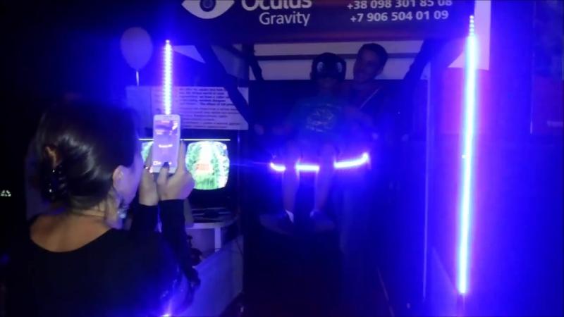 Экстримальный аттракцион виртуальной реальности качели невесомости Oculus Gravity ( Окулус Гравити )
