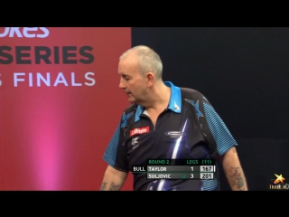 Phil Taylor vs Mensur Suljovic (PDC World Series of Darts Finals 2016 / Round 2)