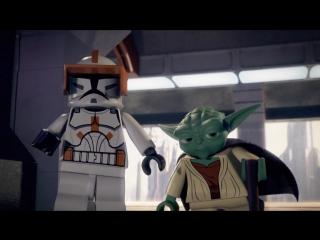 Лего Звёздные Войны падаванская угроза  - 2011 дубляж