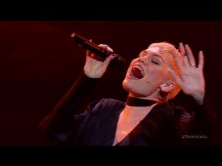 Джесси Джей \ Jessie J - I Have Nothing (Уитни Хьюстон) (слепое прослушивание телешоу Voice Australia 2016) HD 1080 22 05 2016