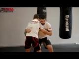 Вольная борьба для ММА - прием зашагивание ЮФС РФ - UFC