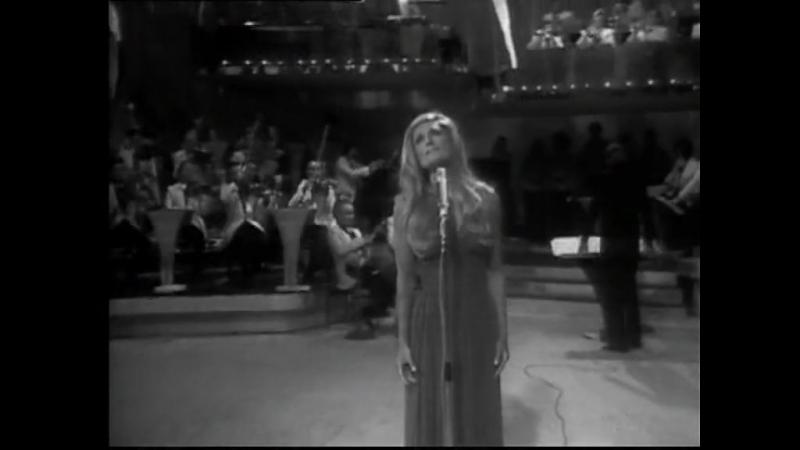 Dalida ♫ Pour ne pas vivre seul (live) 07/06/1973 Cadet rousselle (2e chaine)