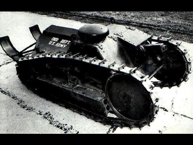 World War I American Tanks Armored Cars