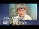 Елена Сафонова. Цвет зимней вишни