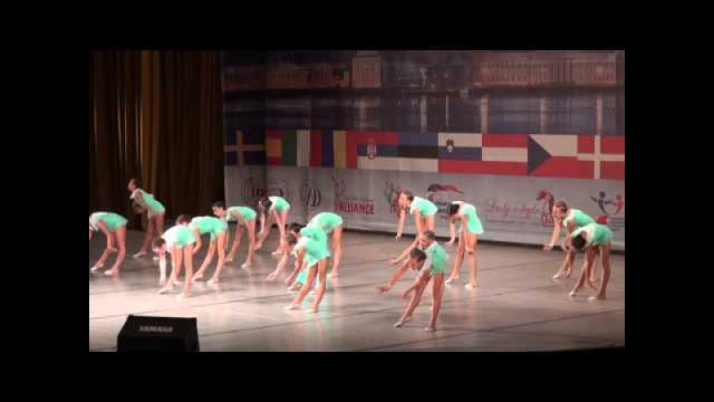 00212 БТО 2015. European Championship. Jazz Dance. Дети, формейшен, финал