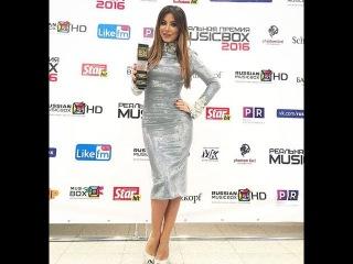Ани Лорак получила премию в России как Лучшая певица