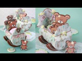 How to Make 3-D Baby Cradle Cookies