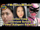 Erika Fong Power Rangers Samurai Interview Rd. 1 Power Morphicon 2016 Morphin Monday