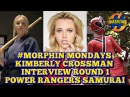 KIMBERLY CROSSMAN Interview Power Rangers Samurai Morphin Monday That Hashtag Show