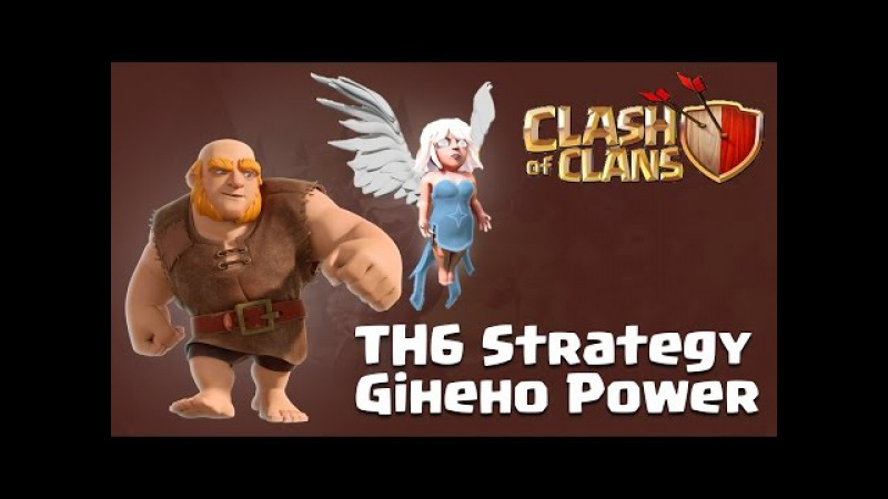 Strategy - 3 Star Town hall 6 (TH6) Attack by Giheho Clear all TH6s