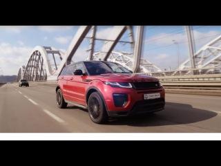 """Land Rover Range Rover Evoque (Рендж Ровер Эвог) тест-драйв от """"Первая передача в Украине"""""""