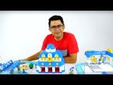 Robocar Polinin şehri ziyareti Nail Baba'yla! Eğtici video çocuklar için.