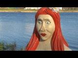 Конаковские вандалы вновь изуродовали скульптурную композицию на берегу Донховки