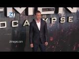 James McAvoy at the film premiere X-Men Apocalypse in London, UK