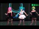 [AMV] Чёрной кошки нет опасней Танец Вокалоидов - Аниме клип